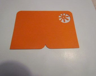 card/folder die cut