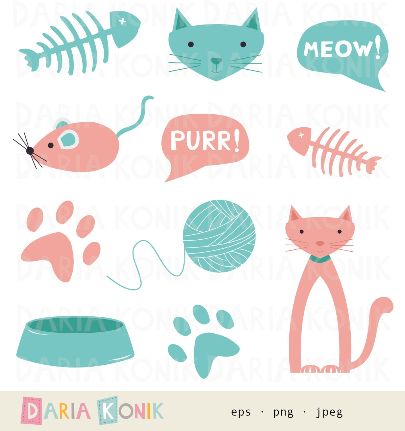 clipart cat toys - photo #3