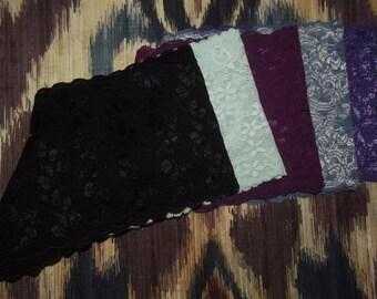5 Lace Boyshorts Set for 25 (various colors/satin ribbons)