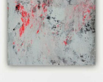 canvas art wall art large abstract paintingcoral black and white modern contemporary huge massive