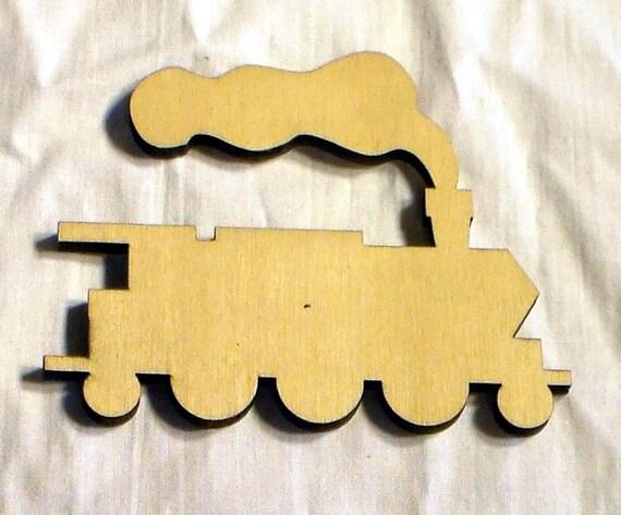 Items Similar To Train Engine Wood Craft Cutout DIY