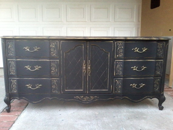 Dresser French Provincial Country French By