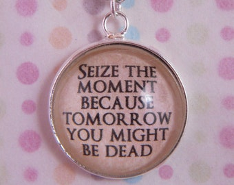 "Buffy The Vampire Slayer ""Seize the Moment"" Necklace"