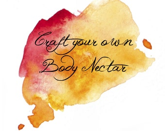 CRAFT    Craft your own Organic Body Nectar    Handmade with organic butters and oils    Custom Lotion