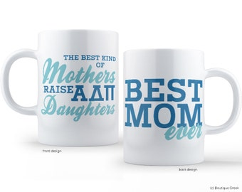 ADPi Alpha Delta Pi Best Mom Sorority Mug