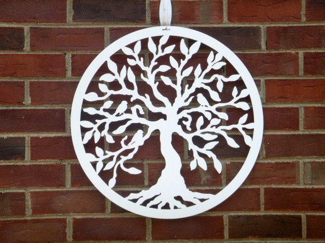 Front Door Wreath, Metal Tree Of Life, Tree Of Life Wall Art, Outdoor Part 23