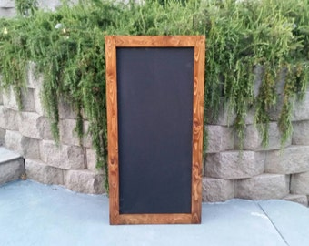 Rustic chalkboard. Framed chalkboard. Chalkboard sign.  Distressed chalkboard signs. Country chalkboard signs.