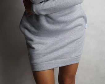 Sweatshirt dress long sleeves