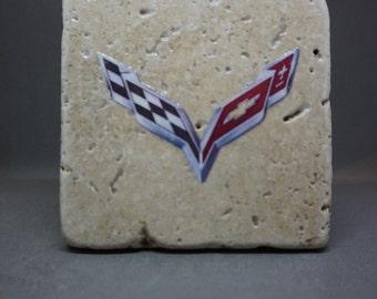 Chevy Corvette Coaster (4-Pack)