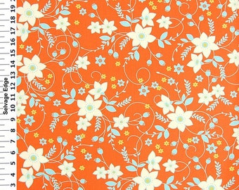 Bella floral top drawer fabric1/2 yard or yardage Sale
