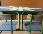 School 70s desk
