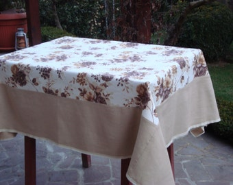 Tablecloth floral Rustic style Tablecloth with lase