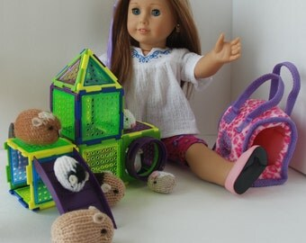 Very cute playground for guinea pigs and Hamster pets for AG Doll