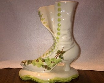 Vintage Cash Family Pottery - Ladies Boot