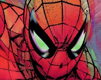 Spider-Man Pop on Giclee Print