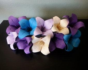 Single Cardstock Origami Lily