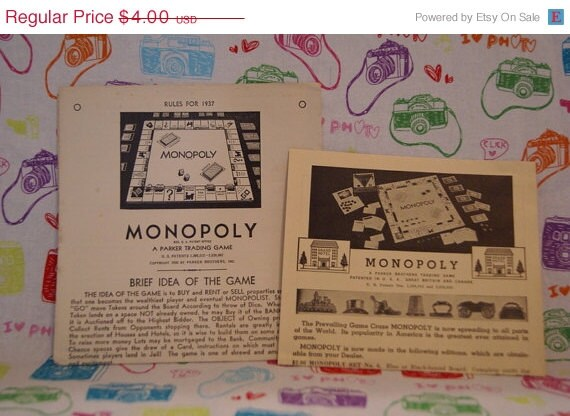 How Much Are Vintage Monopoly Games Worth?