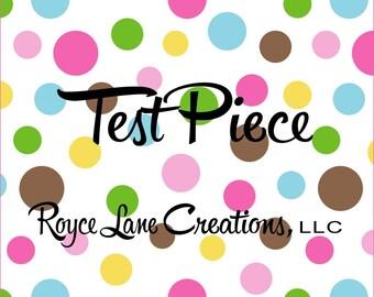 Test Piece