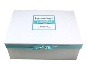 Wedding Keepsake Box - Bow & Buckle