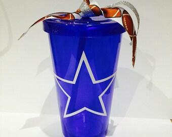 Dallas Cowboys  Football Tumbler