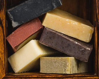 Soap Seconds - All Natural. Vegan and Palm Free Options Available