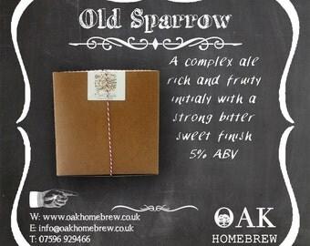 Old Sparrow beer kit