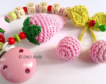 Pacifier Chain ist the perfect gift for baby present and birth!
