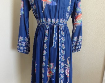 "Vintage Dress Made In The 1960's In USA By 'Hal Ferman' - Size 36"" Chest"