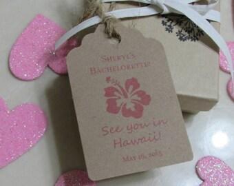 Thank you favor tag, Bachelorette favor tags, Bridal Shower Favor Tags, Gift tags, Bridal Shower party, Bachelorette party