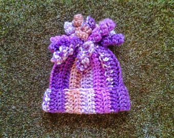 Bouquet of Spirals Hat