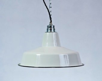 Industrial Factory Shade enamel Ceiling Lighting lamp