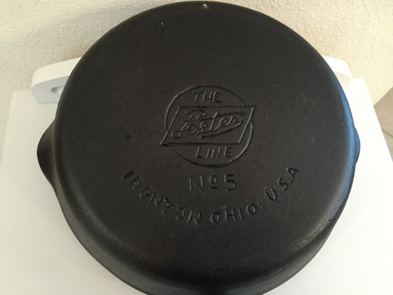 The foster line cast iron skillet