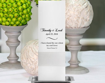 Personalized Square Unity Candle Set- GC368 CP8