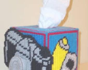 Camera Tissue Box Cover Plastic Canvas Pattern