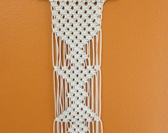 Macrame Wall Hanging Handcrafted Macrame Rope Art Macrame Home Decor