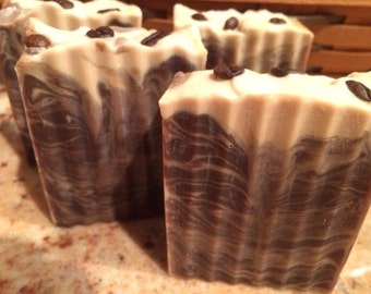 Turkish Mocha Natural Cold process soap - Vegan