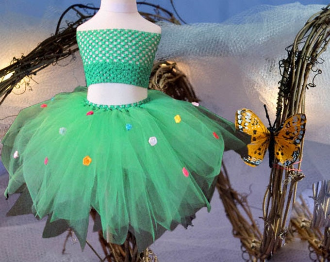 Floral Enchantress Tutu Skirt
