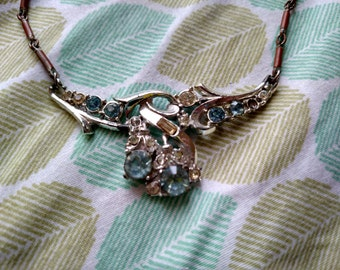 broken vintage costume necklace