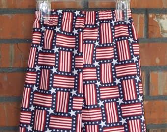 Children's - American Flag Lounge Shorts