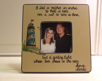 Father of the Bride Frame Picture frame for Dad Wedding Gift to Dad from daughter Dad birthday wedding frames quote frame Grandfather gift