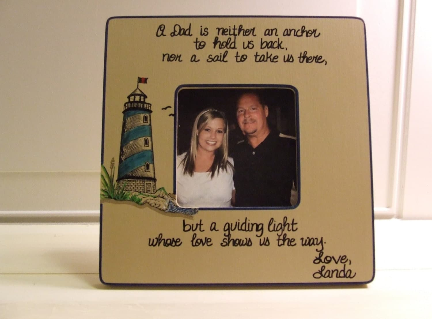 Wedding Gift For Dad From Son : Father of the Bride Frame Picture frame for Dad Wedding Gift