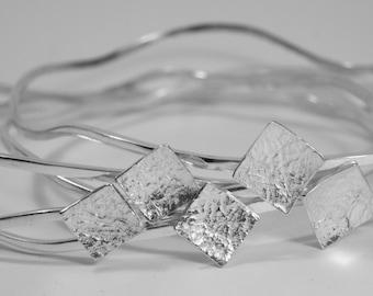 diamond bracelet, 925 sterling silver