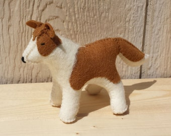 Felt Dog, Stuffed Dog, Dog