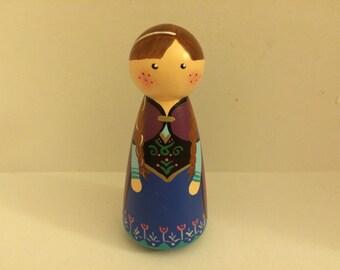 Anna Peg Doll