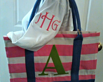 Monogrammed Initial Bag