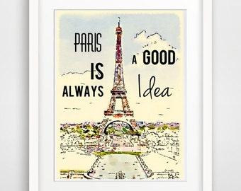 quote wall art, inspirational quote, french quote art, french wall art, french wall decor, french giclee print, vintage french decor