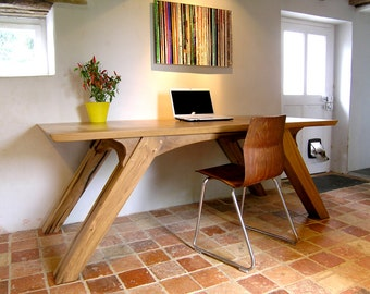 Bespoke Reclaimed Oak Desk or Dining Table