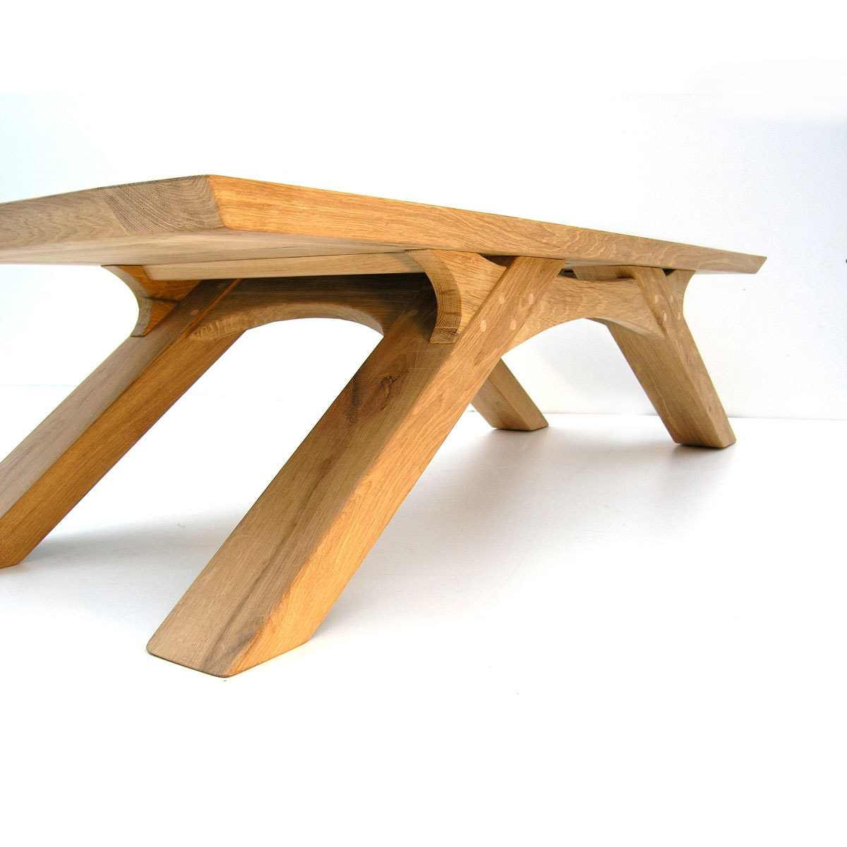 Arch Coffee Table Handmade In Sustainable French Oak