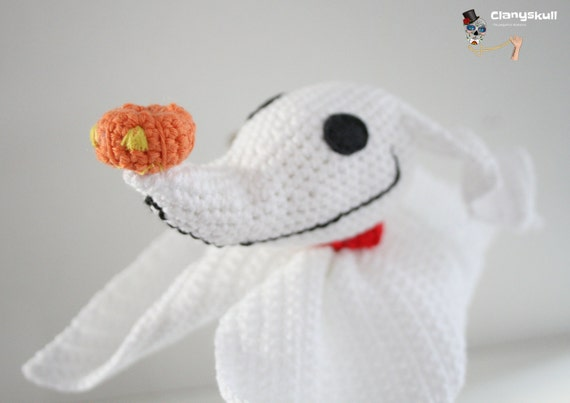 Amigurumi Zero. Nightmare Before Christmas