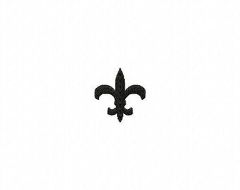 Fleur de lis embroidery design download - 4x4 hoop size only